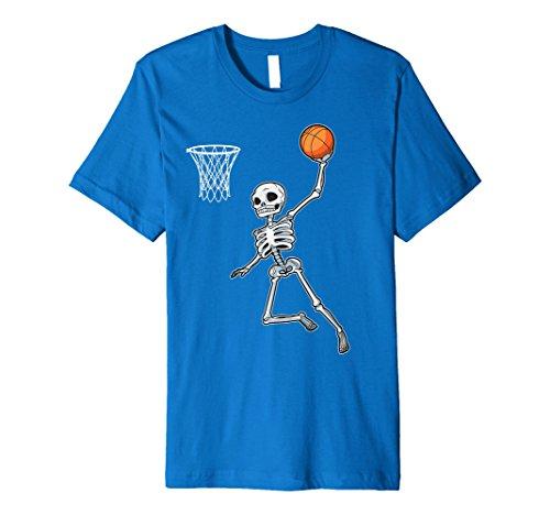 (Skelett Basketball Halloween Tshirt Slam Dunk Kostüm Geschenke)