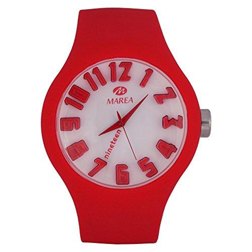 35505-6 Marea Silikon Uhr, Unisexuhr im 3D Optik