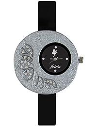 Ecbatic Designer Beautiful Womens Watch And Volga Mens Swipe Second Waterproof Mens Watch Couple Watch