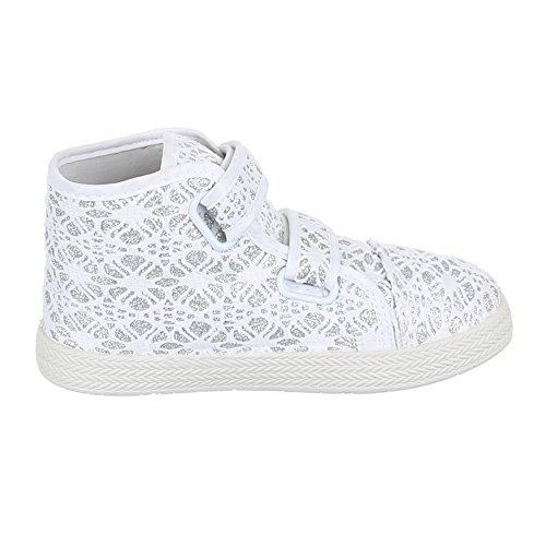 Ital-Design - Pantofole Bambina Bianco (bianco)