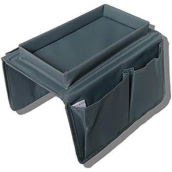 SAIANKE Canap/é t/él/écommande TV combin/é Support Caddy Organiseur pour accoudoirs avec Porte-gobelet Plateau/ canap/és fauteuils avec de Nombreuses Poches de Bras /Compatible avec Plus de chaises