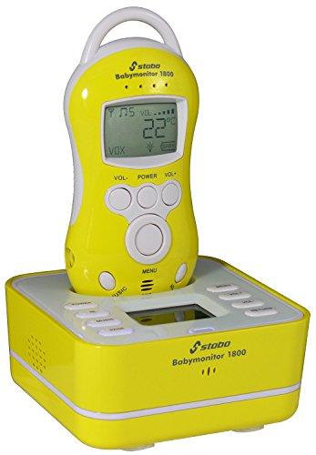 Stabo Elektronik 51059 Babyfon Bm 1800 mit Nachtlicht, Schlaflied und Sprechfunktion, Reic Preisvergleich