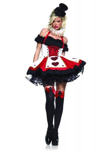 Damen Spielkarten Kostüm - Generique - Sexy Spielkarten - Kostüm