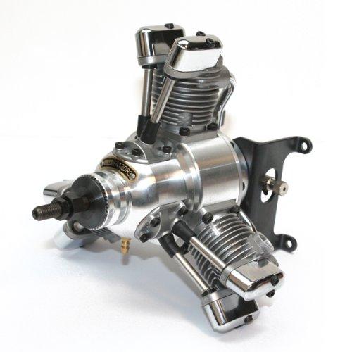 SAITO FA - 120R3 Radial Viertakt- Glow Motor (Saito Motor)