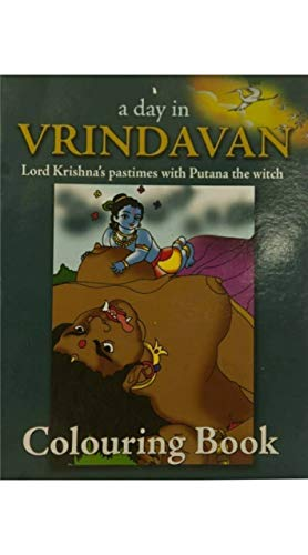 Vrindavanmart Devotional Books Lord Krishna's Pastimes With Putana