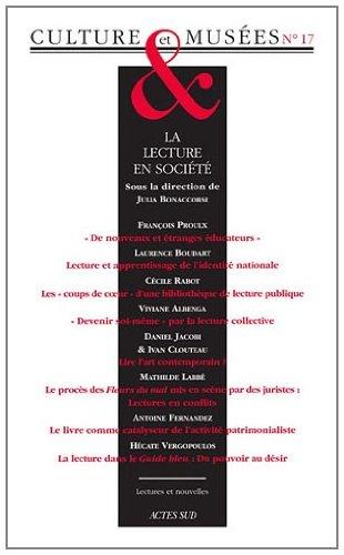 Culture & Musées, N° 17 : La lecture en société