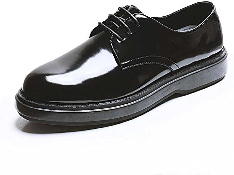 Herren Derby Leder Formelle Brogues Klassische Kleid Schuhe Runde Toe Lace ups Schuhe Für Männer Business Schuhe