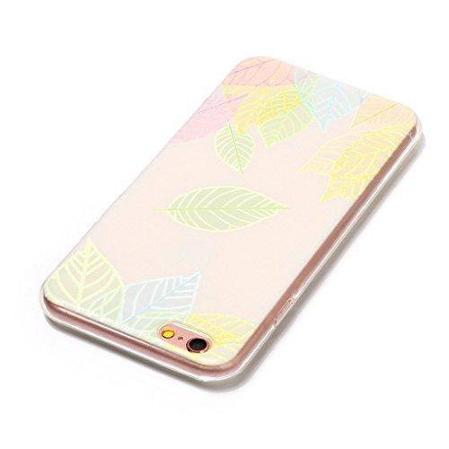 """Hülle für Apple iPhone 6S / 6 , IJIA Transparent Schwarz Schildkröte TPU Weich Silikon Stoßkasten Cover Schutzhülle Handyhüllen Schale Case Tasche für Apple iPhone 6S / 6 (4.7"""") HX49"""