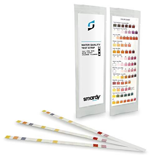 SMARDY® 3X 13 IN 1 Ultra Wassertest Set für Trinkwasser - Aquarium schnelltest - einfache Überprüfung der Wasserqualität -