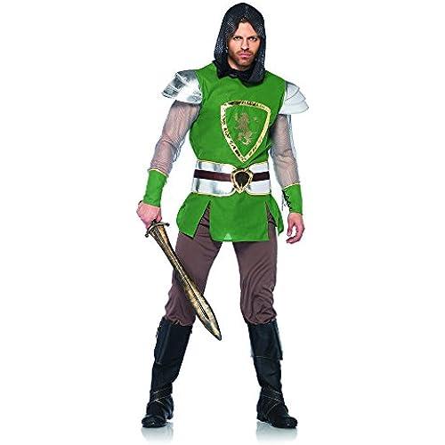 Leg Avenue 85320 - Regina Guardia Costume Set, 4 pezzi, taglia M / L, verde
