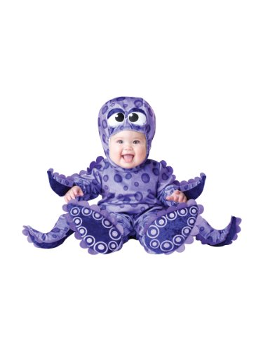 InCharacter Costumes Baby's Tiny Tentacles Octopus Costume, Purple, X-Small