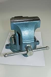 drehbarer Schraubstock mit Amboss 125mm für Werkbank