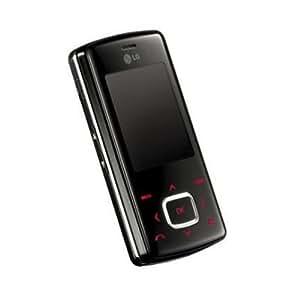 LG Chocolate KG800 Téléphone Portable coulissant 1,3 Mpix Bluetooth MP3 Noir
