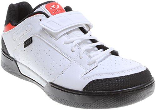 Cycling Shoe Giro Jacket Grigio-Verde Bianco (bianco)