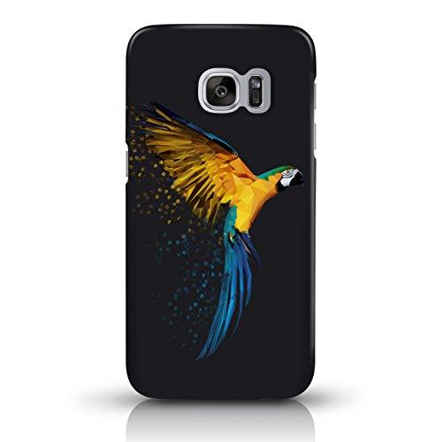 """JUNIWORDS Handyhüllen Slim Case für das iPhone 7 - """"Bunter Elefant schwarz"""" - Handyhülle, Handycase, Handyschale, Schutzhülle für Ihr Smartphone Papagei"""