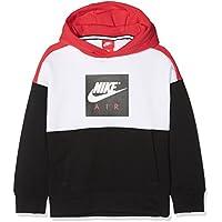 Nike B Nk Air Po Sudadera, Niños, Blanco (White/Black / University Red), M