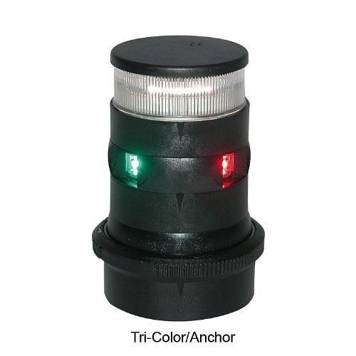 Aqua Signal Tri-Color/Anchor LED Navigation Light with Black Housing by Aqua Signal