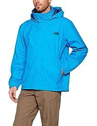 The North Face Resolve Chaqueta, Hombre, Azul (Hyper Blue/Shady Blue), Large (Tamaño del Fabricante:L)