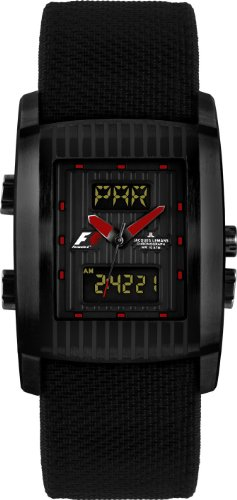 Jacques Lemans Formula 1™ UTC F-5025A Gents Black High-Tex Strap Watch