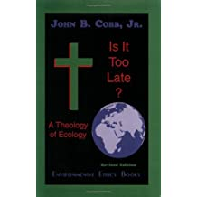 Is it too late?: A theology of ecology by John B Cobb (1995-08-02)