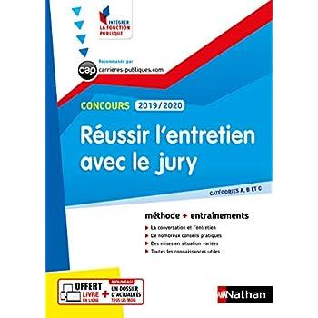 Réussir l'entretien avec le jury - Catégorie A, B et C - Intégrer la fonction - 2019/2020