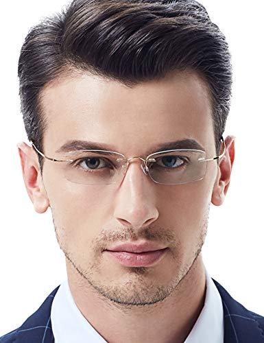 VEGOOS Gafas lectura hombre mujer Ultra ligero 12g