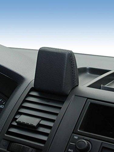 Kuda–Consola de teléfono para (LHD) para Navi Volkswagen T5Transporter de 2003a 2009piel negro
