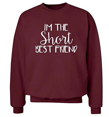 I 'm The kurz Best Friend Sweatshirt XS – 2 X L Pullover Gr. Medium, kastanienbraun (Tall-gerippter Pullover Big-und)