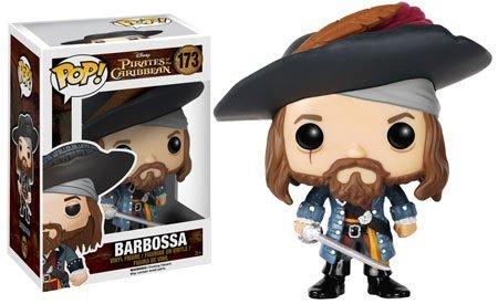 Pirates of the Caribbean Barbossa Pop Vinyl Figure by Pirates of the Caribbean