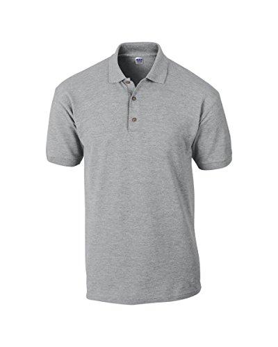 HS-Distributors Herren Poloshirt Grau - Sport Grey
