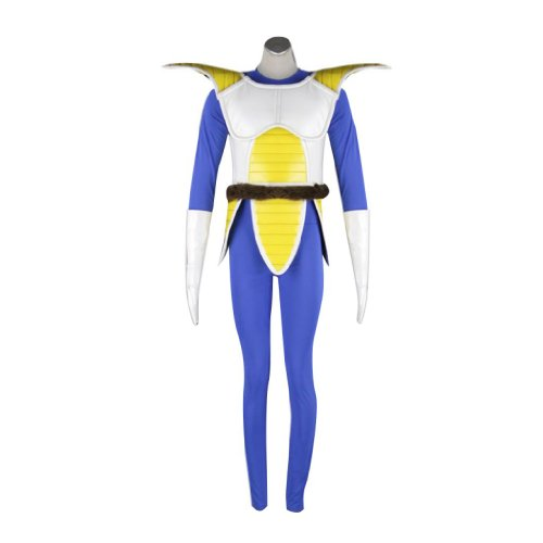 Dream2Reality japanische Anime Dragon Ball Cosplay Kostuem - Vegeta Fighting Uniform 1st Ver Kid Size Large