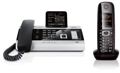 Siemens Gigaset DX600A SET mit 1x C59H Mobilteil – ISDN, Anrufbeantworter, Bluetooth® ECO DECT Test