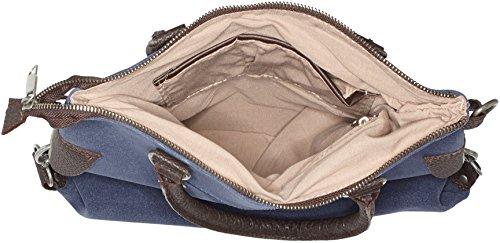 Bags4Less - Stern-mini, Borsa a tracolla Donna Blau (Velours-Dunkelblau)