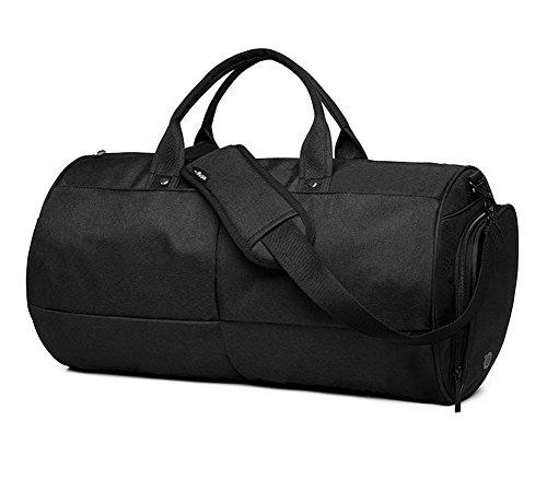 SQLP Sporttaschen Reisetasche mit 22 Liter Handgepäck Tasche 48x26x26 cm Hochwertige Canvas Weekender Tasche für Damen und Herren