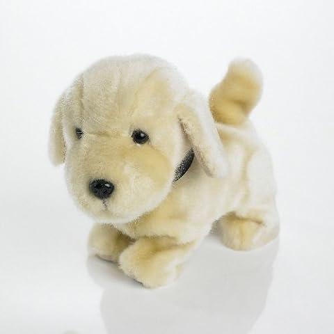 The Discovery Store Sandy - Perro labrador de peluche con sonido y movimiento