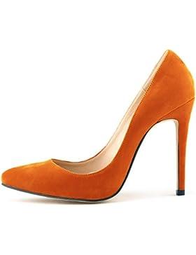 MEI&S Donna PUNTALE APPUNTITO di bocca poco profonda Prom Stiletto Tacchi Alti Wedding Corte pompe scarpe