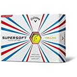 2015 Callaway Supersoft Golf Balls DOZEN - Yellow