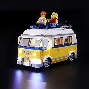 LIGHTAILING Set di Luci per (Creator Surfer Van Giallo) Modello da Costruire - Kit Luce LED Compatibile con Lego 31079… 0716852279807 LEGO