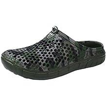 Zapatillas de Casa para Hombre Yesmile Zapatos Camuflaje Respirable Zapatillas Planas de