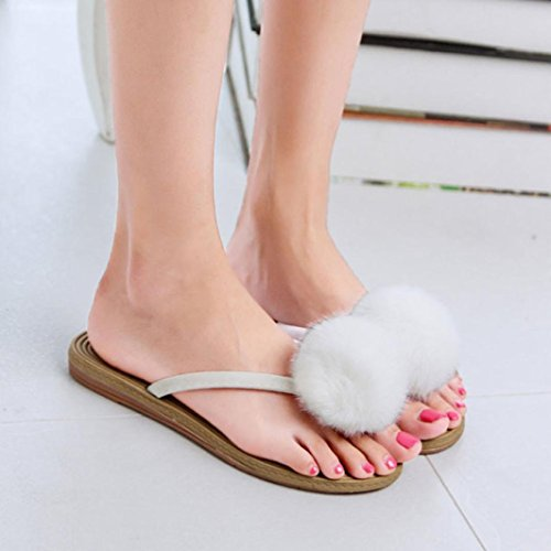 Rose rouge filles Tongs plage Pantoufles Chaussures Sandales D7aoQ