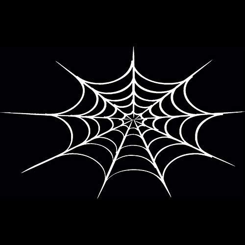 Halloween Spinnennetz Persönlichkeit Auto Aufkleber Motorrad Auto Dekoration Mode-Accessoires Aufkleber 5 stücke ()