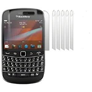 6 Pack Clear Screen Protector For Blackberry Bold 9900