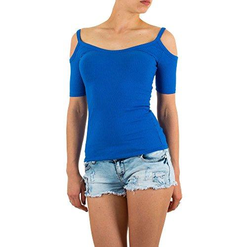 Ital-Design - Canotta -  donna Blu
