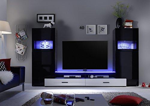 Multimediacenter schwarz Hochglanz - 2