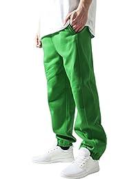 Urban Classics Herren Sporthose Sweatpants-Grün (c.green) ,S