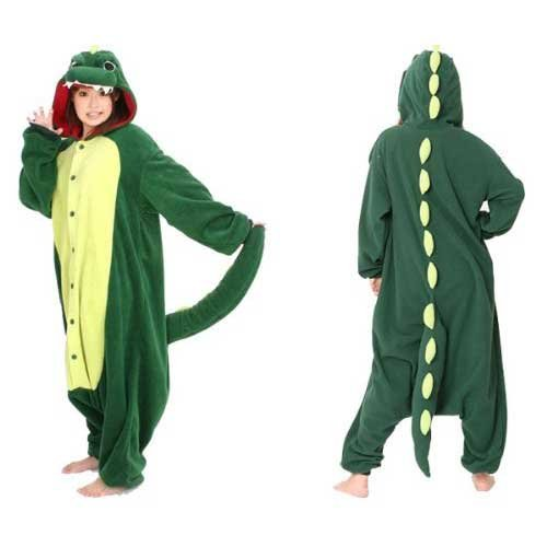 Japan Sazac Original Kigurumi Pajamas Halloween Costumes Godzilla Dinosaur (japan import)