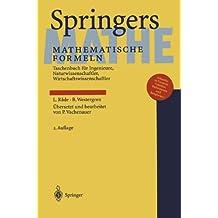 Springers Mathematische Formeln: Taschenbuch für Ingenieure, Naturwissenschaftler, Wirtschaftswissenschaftler