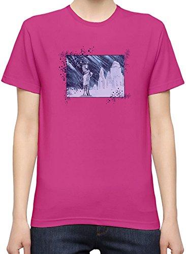 Manhatan In Pure Rain Kurzarm-T-Shirt für Frauen XX-Large
