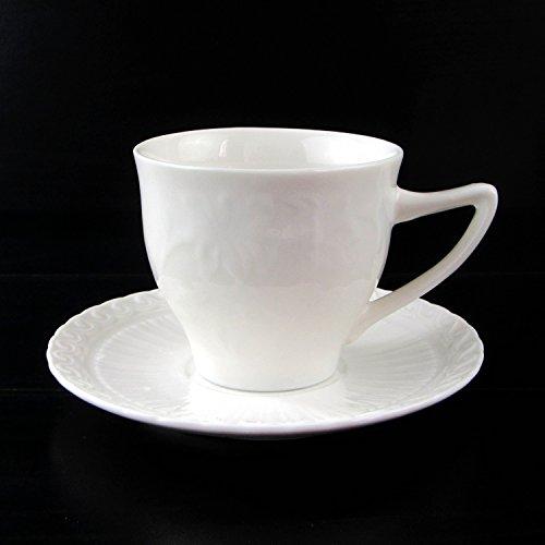 HONGYUANZHANG Keramik Kaffeetasse Hotel Club Cup Business White Water Schale Tasse (220 Ml)