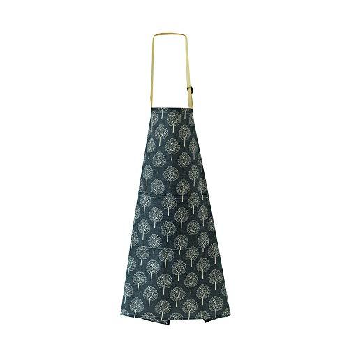 Blusea Schürze mit praktischer Tasche wasserdichte Küchenschürze Erwachsene Schürze Küchenaccessoires (Schürze Cypress)